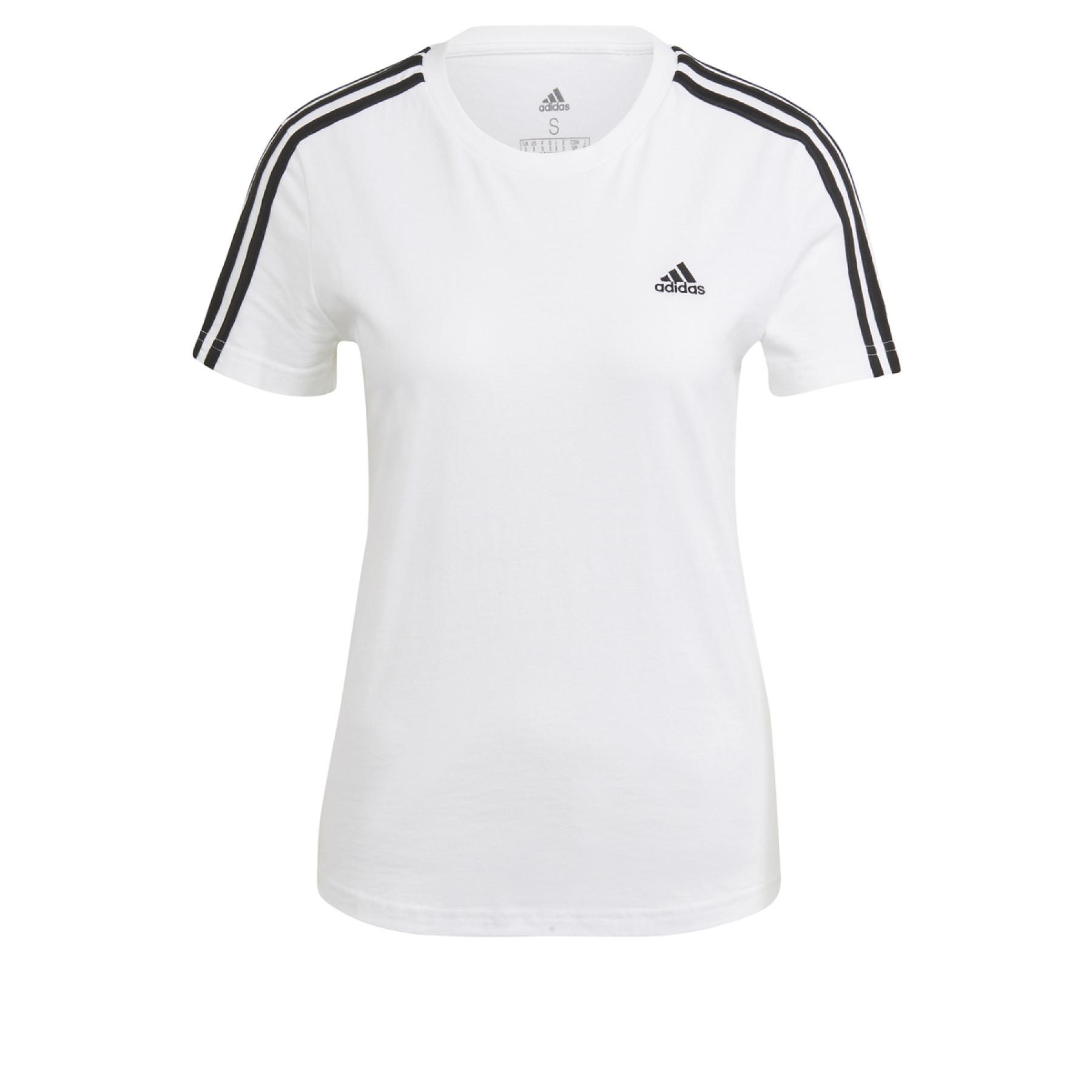 Women's T-shirt adidas Essentials Slim 3-Bandes
