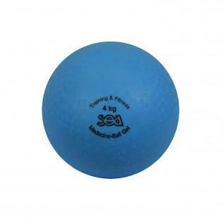 Medicine ball gel 4kg Sporti France Sea