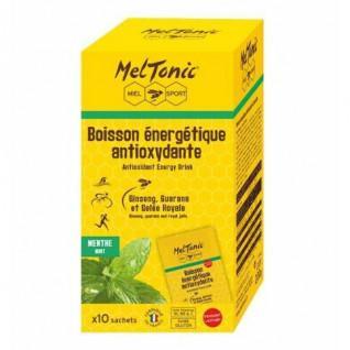 10 Sachets of Meltonic Antioxidant Energy Drink - Mint