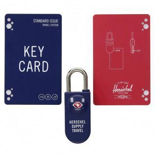 Padlock Herschel tsa card lock