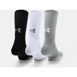 Pack of 3 pairs of high socks Under Armour HeatGear® Crew