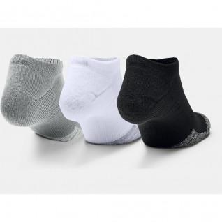 Set of 3 pairs of socks Under Armour HeatGear® No Show
