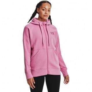 Women's Under Armour Hooded Rival Fleece Full Zip Jacket