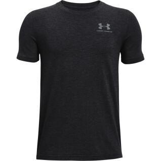Boy's T-shirt Under Armour à manches courtes en coton