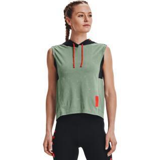 Women's hooded sweatshirt Under Armour Run Anywhere