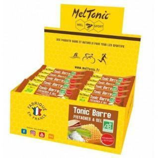 30 energy bars Meltonic TONIC' BIO - PISTACHES & FLEUR DE SEL