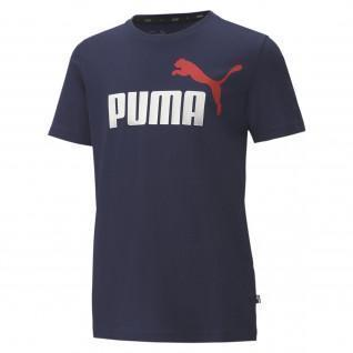 Puma ESS Junior T-Shirt 2 Collar Logo B