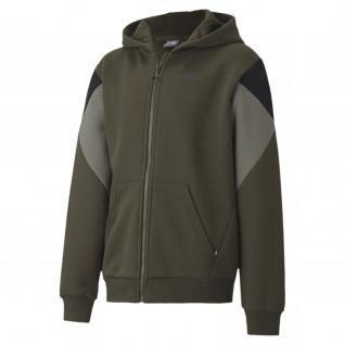 Junior Puma Rebel Block Jacket
