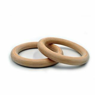 Wooden gymnastic rings Fit & Rack D32mm
