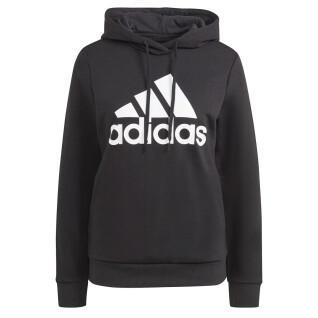 Women's hooded sweatshirt adidas Essentials Logo Fleece