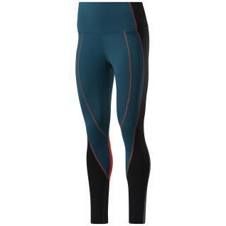 Women's high-waisted leggings Reebok Colorblock Lux