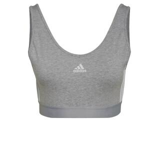 Bra with removable pads for women adidas Essentials 3-Stripes