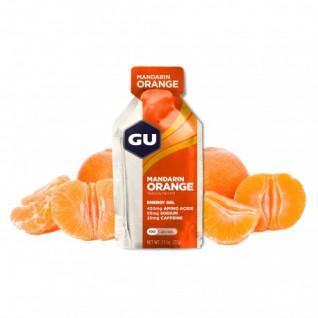 Lot 24 Gu Energy Gel tangerine / orange
