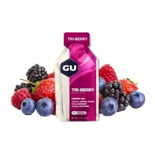 Lot 24 Gu Energy Gel 3 red fruits