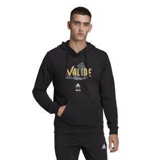Hooded sweatshirt adidas Validé