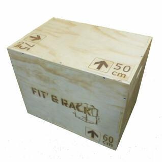 Box jump wood Fit & Rack 50x60x75