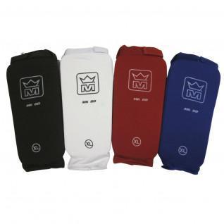 Shin/foot protectors cotton kickboxing/fullcontact Montana MK 80