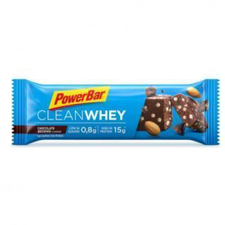 Batch of 18 bars PowerBar Clean Whey - Chocolate Brownie